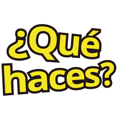 Spanish lettering for iMessage messages sticker-9