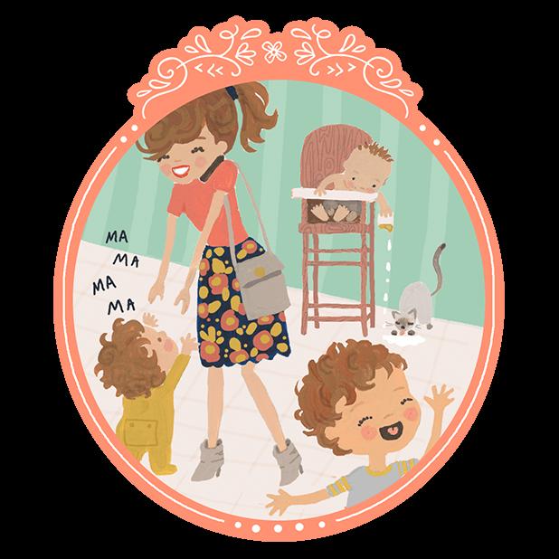DaySpring Hey Momma! Stickers messages sticker-1