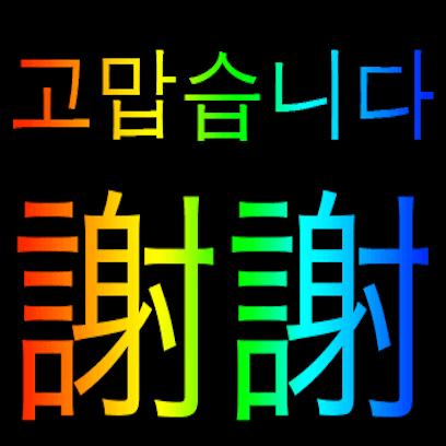 Korean Chinese messages sticker-1