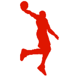 Fun Sports Silhouette Stickers messages sticker-2