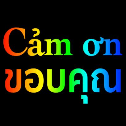 Vietnamese Thai messages sticker-7