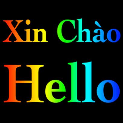 Vietnamese English messages sticker-1