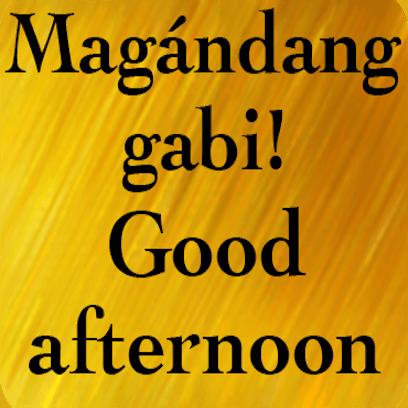 Filipino English messages sticker-1