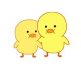小黄鸭MOOD messages sticker-11
