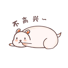 Fat Hamster And  Black Cat messages sticker-8
