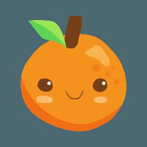 Kawaii Fruits And Vegetables messages sticker-1