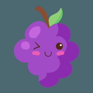 Kawaii Fruits And Vegetables messages sticker-2