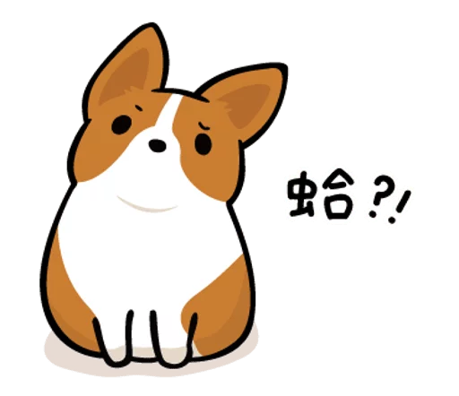 LittleCorgi messages sticker-0