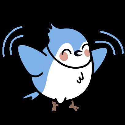 Bleu's Adventures messages sticker-7