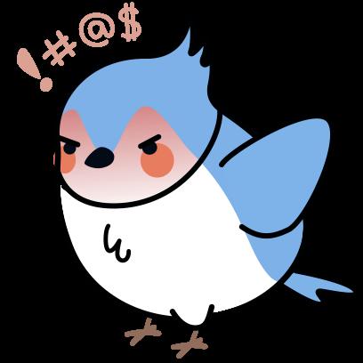 Bleu's Adventures messages sticker-0