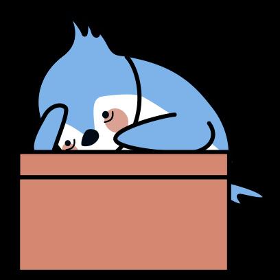 Bleu's Adventures messages sticker-4