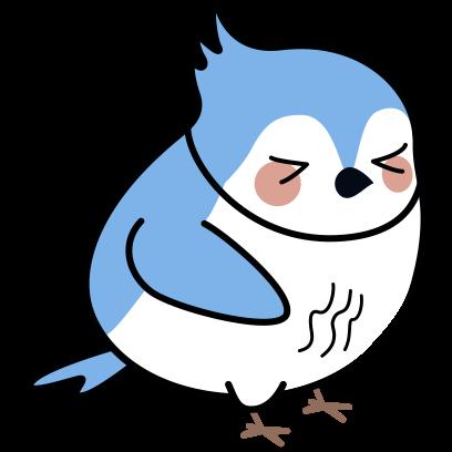 Bleu's Adventures messages sticker-10