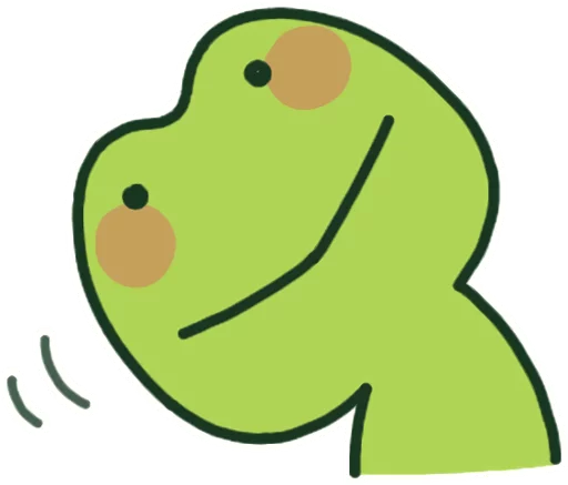 GreenFrogSHOW messages sticker-6