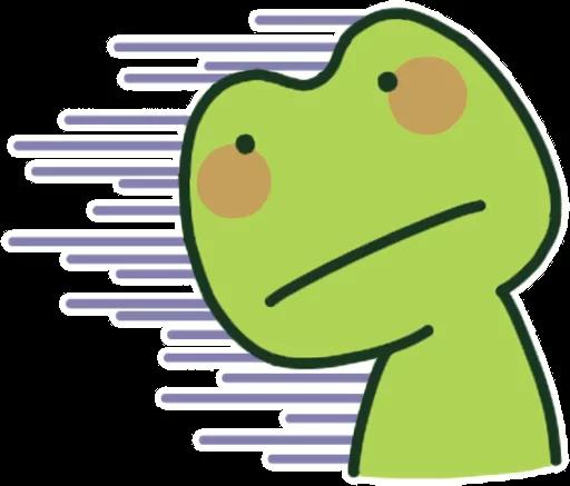 GreenFrogSHOW messages sticker-3