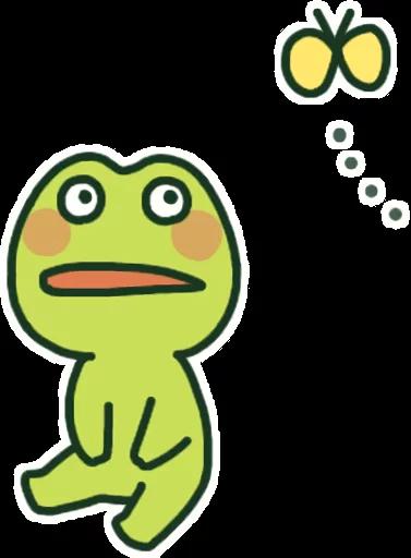 GreenFrogSHOW messages sticker-1