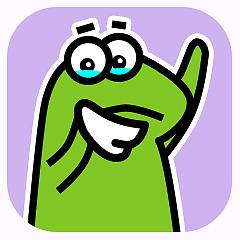 受气包蛙先生 messages sticker-5
