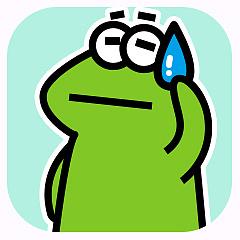 受气包蛙先生 messages sticker-3