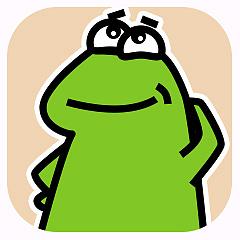 受气包蛙先生 messages sticker-1