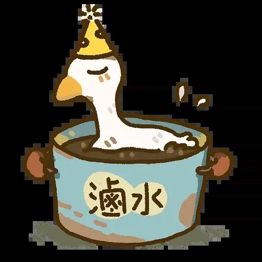 笑得鹅鹅鹅哈哈 messages sticker-1