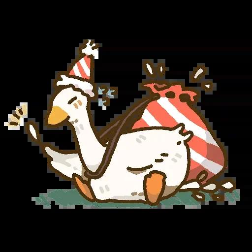笑得鹅鹅鹅哈哈 messages sticker-9