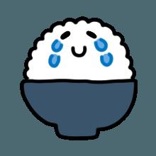 米饭贴纸 messages sticker-10