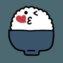 米饭贴纸 messages sticker-8