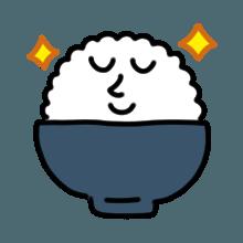米饭贴纸 messages sticker-11