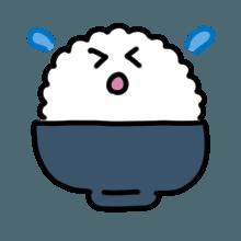 米饭贴纸 messages sticker-5