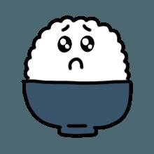 米饭贴纸 messages sticker-6