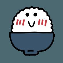 米饭贴纸 messages sticker-7