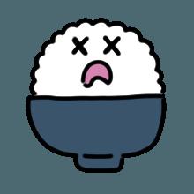 米饭贴纸 messages sticker-9