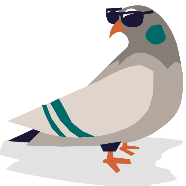 Pete the Pigeon Stickers messages sticker-1