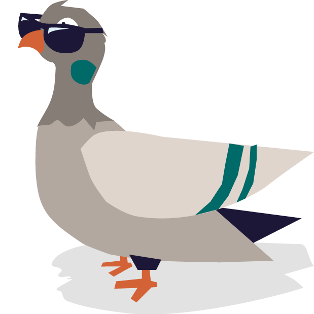 Pete the Pigeon Stickers messages sticker-7