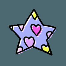 梦幻心形 messages sticker-10