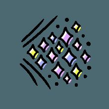 梦幻心形 messages sticker-11