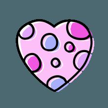 梦幻心形 messages sticker-6