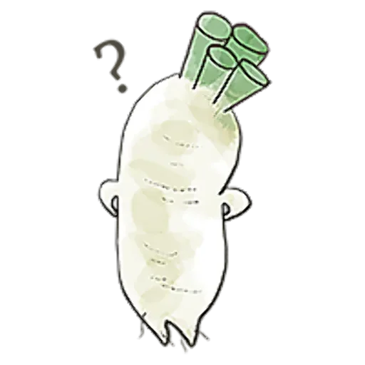 A Radish With Ideals messages sticker-2