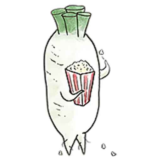 A Radish With Ideals messages sticker-3