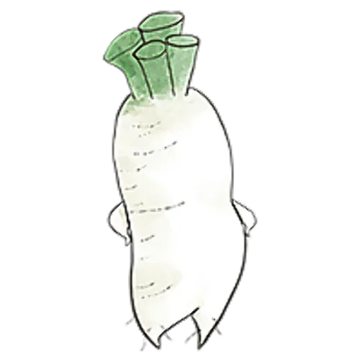 A Radish With Ideals messages sticker-1