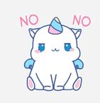 独角兽MOMO messages sticker-11