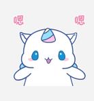 独角兽MOMO messages sticker-0
