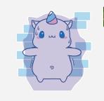 独角兽MOMO messages sticker-4