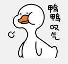 一鸭咿呀 messages sticker-7