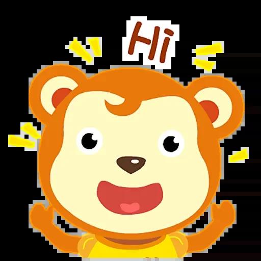 雄心的动物园 messages sticker-11