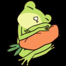 迷之青蛙贴纸 messages sticker-11