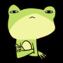 迷之青蛙贴纸 messages sticker-9