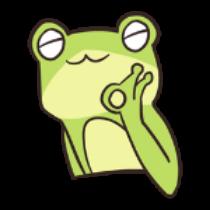 迷之青蛙贴纸 messages sticker-8