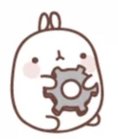 萌萌兔Pro messages sticker-2