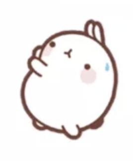 萌萌兔Pro messages sticker-4