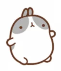 萌萌兔Pro messages sticker-0